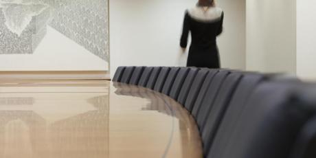 12 Meter bespoke cherry wood boardroom table